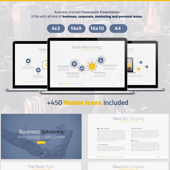 Business Solutions Powerpoint Presentation