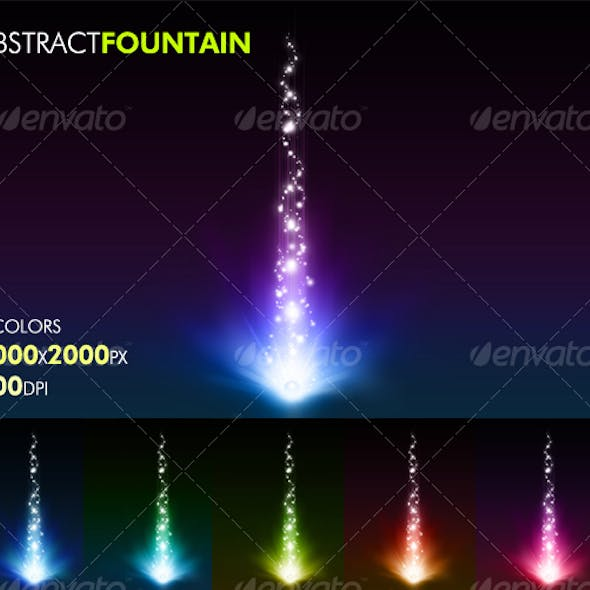 Abstract Fountain
