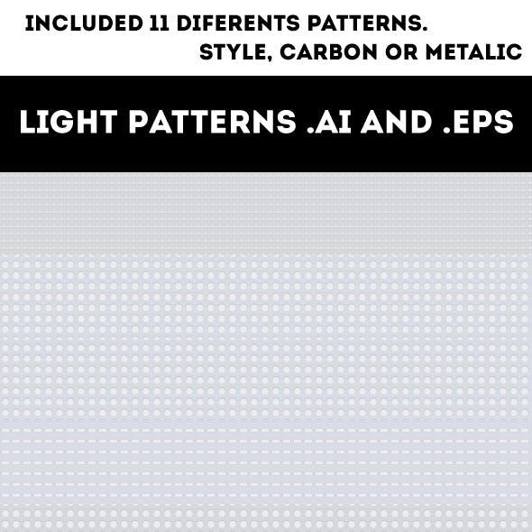 11 Light Seamless Patterns