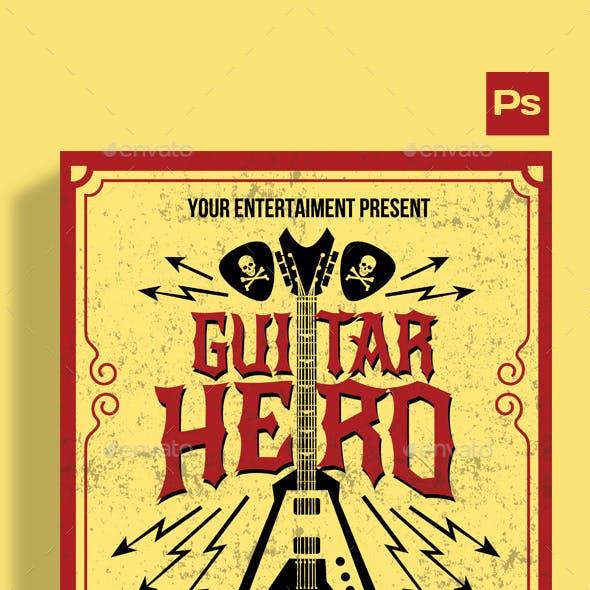 Guitar Hero Flyer