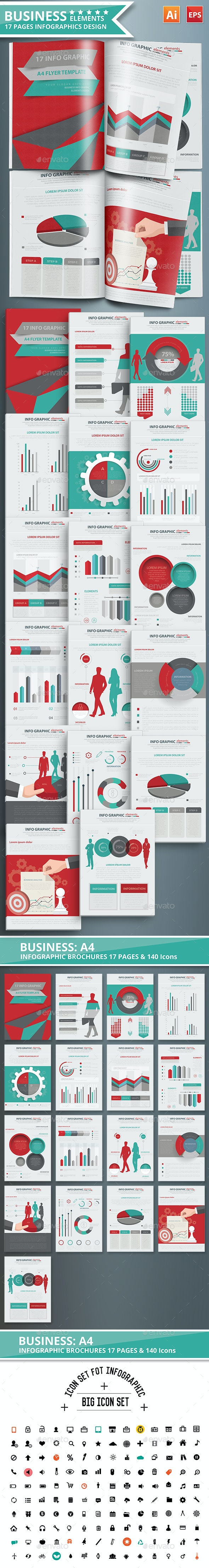 Business Infographic Design Scheme 02 - Infographics