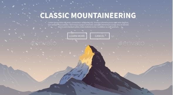 Climbing Background The Matterhorn - Landscapes Nature