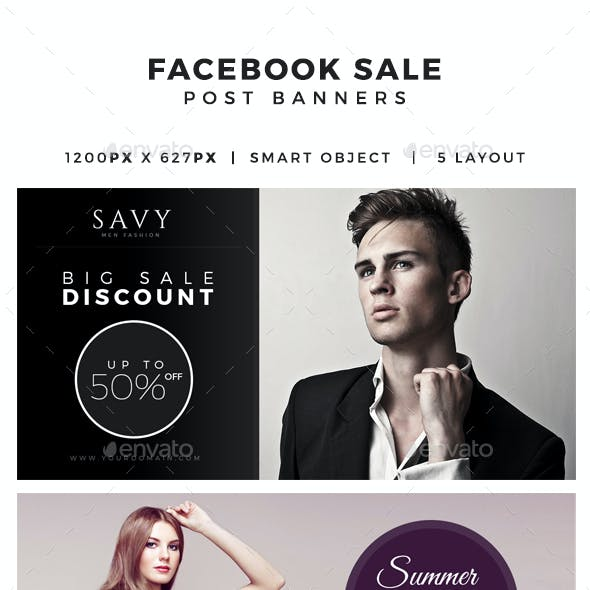 Facebook Promo Post Banners