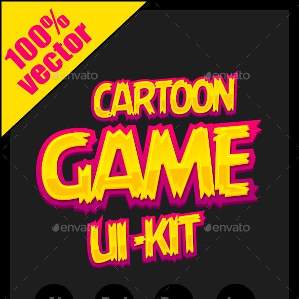 Cartoon Game Ui