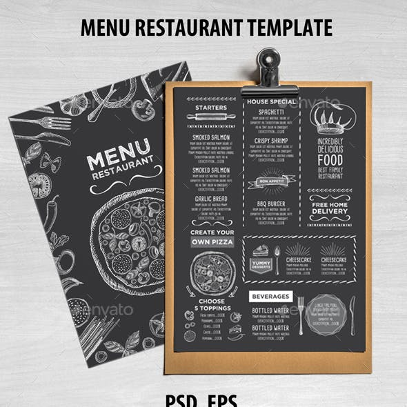 Pizza Menu Templates from GraphicRiver