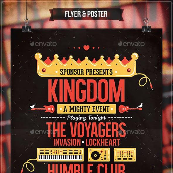Kingdom - Flyer & Poster