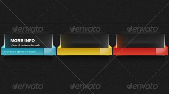 Stylish Info Button  - Web Elements