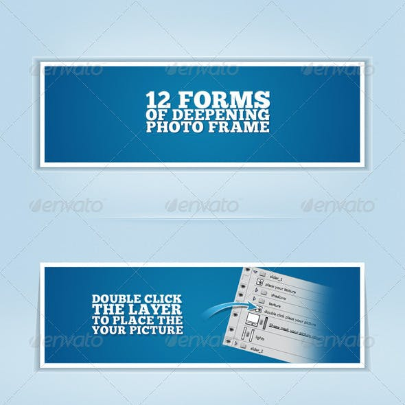 12 forms deepening photo frame