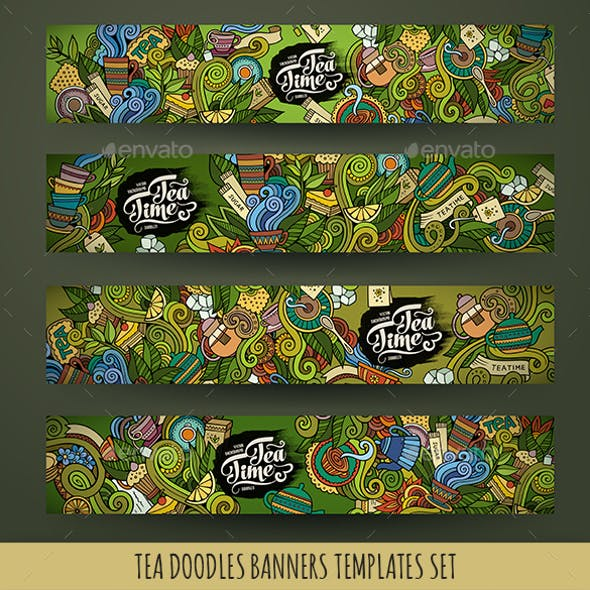Tea Banners Design Templates