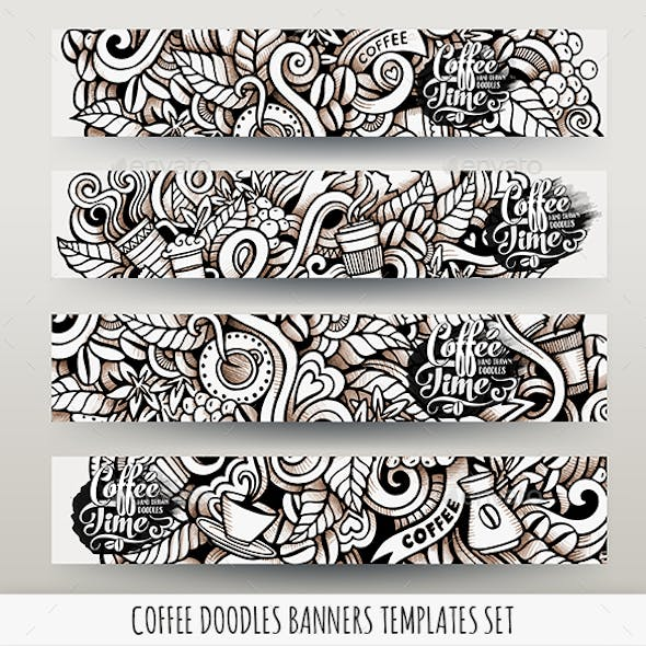Coffee Banners Design Templates