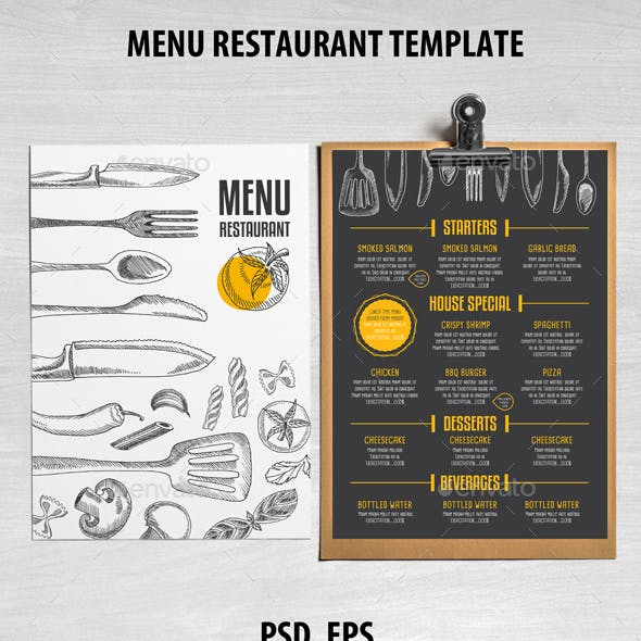 Cafe and Restaurant Template