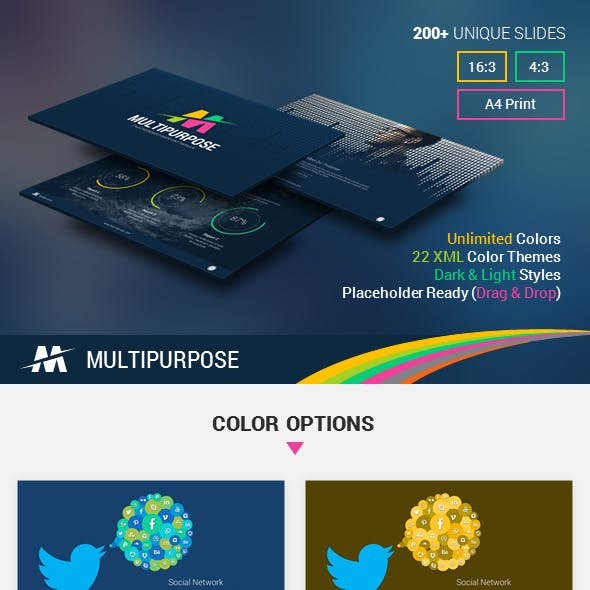 Professional Business PowerPoint Templates from GraphicRiver (Page 11)