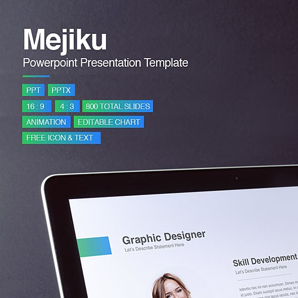 Mejiku Powerpoint Template