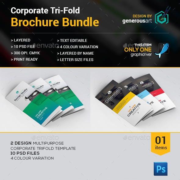 Tri-fold Brochure Bundle_2 in 1