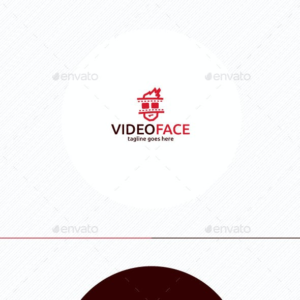 Video Face Logo