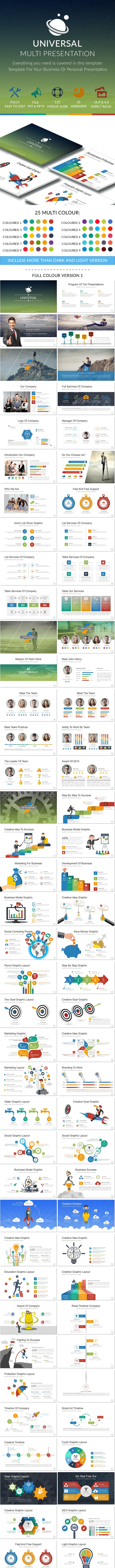Universal Powerpoint Presentation Template - Business PowerPoint Templates