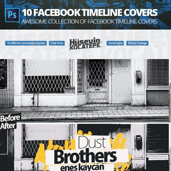 10 units facebook cover