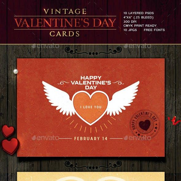 Retro / Vintage Valentine Cards