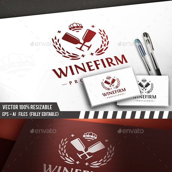 Wine Firm Logo