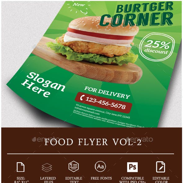 Restaurant Food Flyer