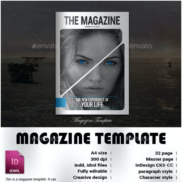 Science Magazine Templates From Graphicriver