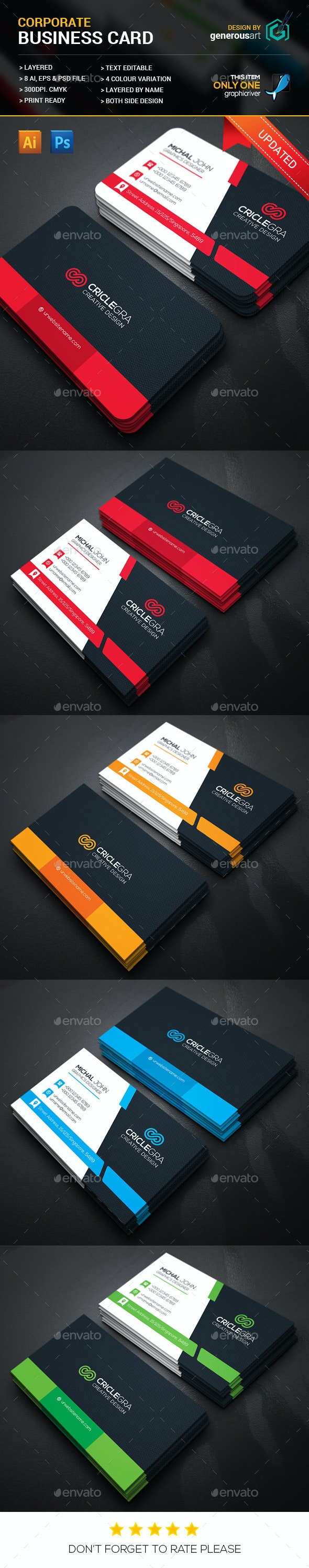 Criclegra Corporate Business Cards - Corporate Business Cards