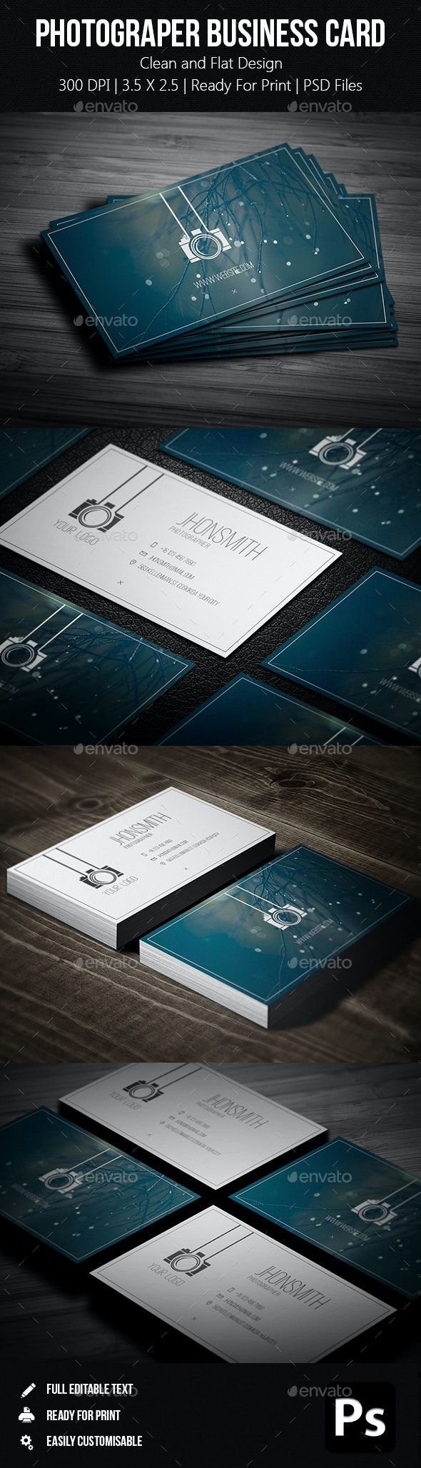 Creative Photgrapher Business Card 05 - Creative Business Cards