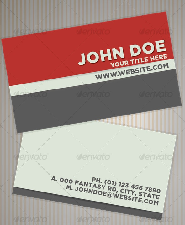TRI Business Card - Corporate Business Cards