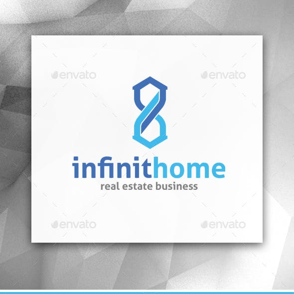 Infinity Home Logo Template
