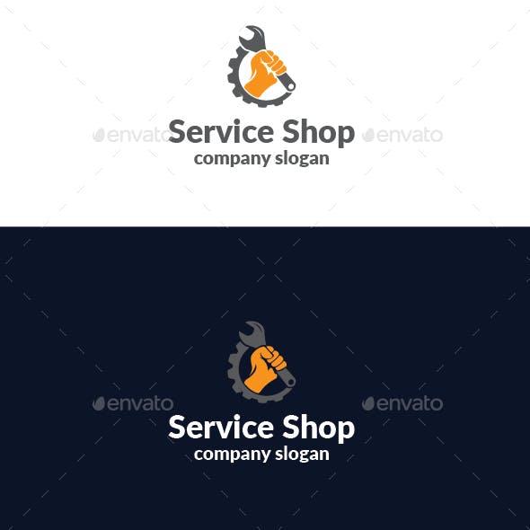 Service Shop Logo
