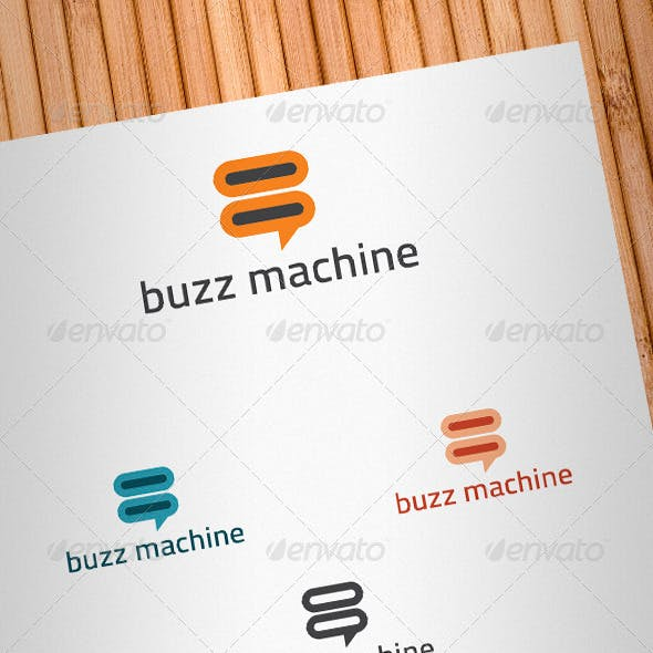 Buzz Machine Logo Template