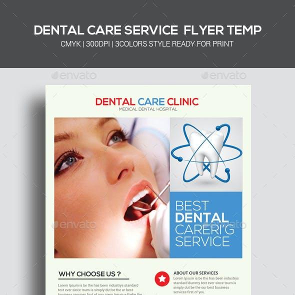 Medical Dental Care Health Flyers Bundle