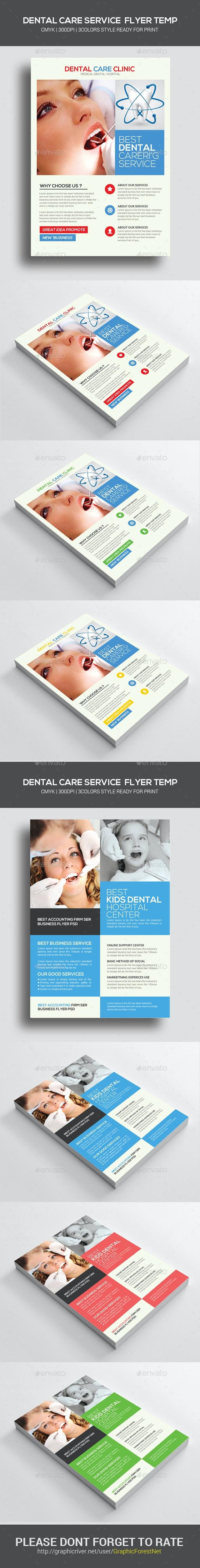 Medical Dental Care Health Flyers Bundle - Corporate Flyers