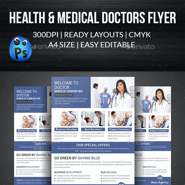 Doctor Flyer Template