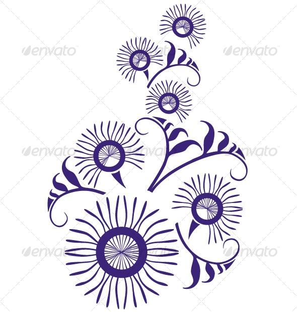 Ornament  in color  22 - Flourishes / Swirls Decorative