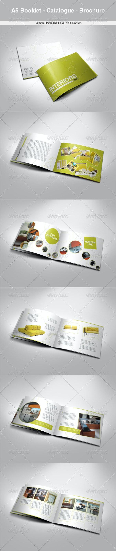 A5 Booklet - Catalogue - Brochure  - Catalogs Brochures