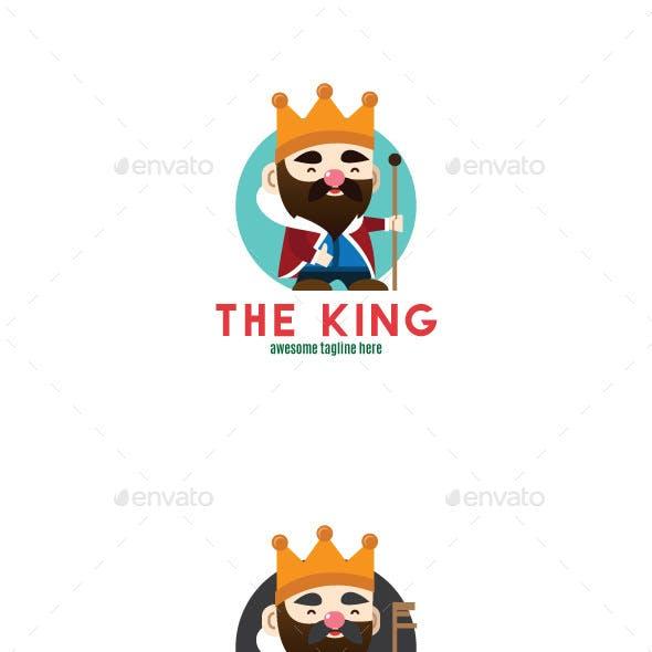 The King Logo Mascot