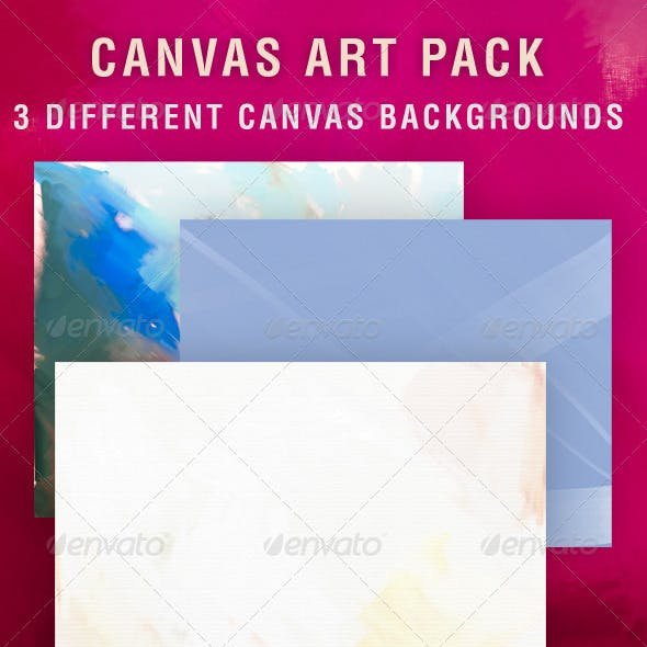 Canvas Art Background Pack
