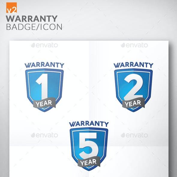 Premium Warranty Badge/Icon v2