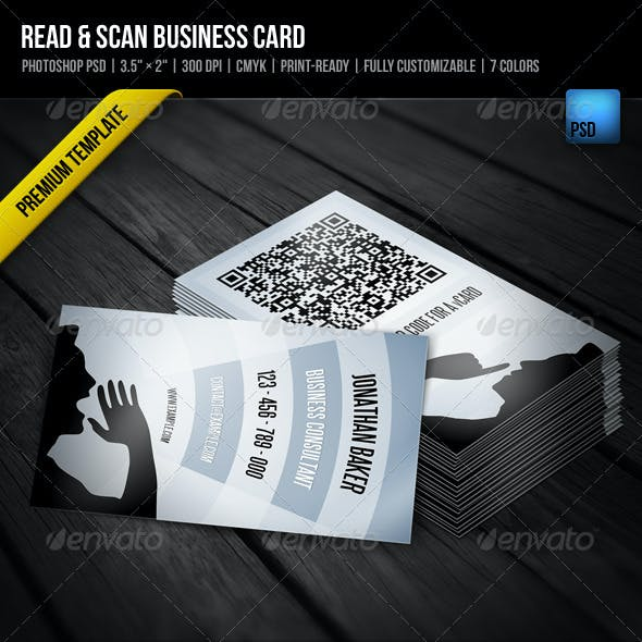 Read & Scan Business Card