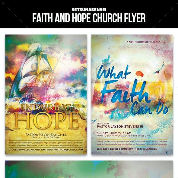 Faith and Hope Church Flyer