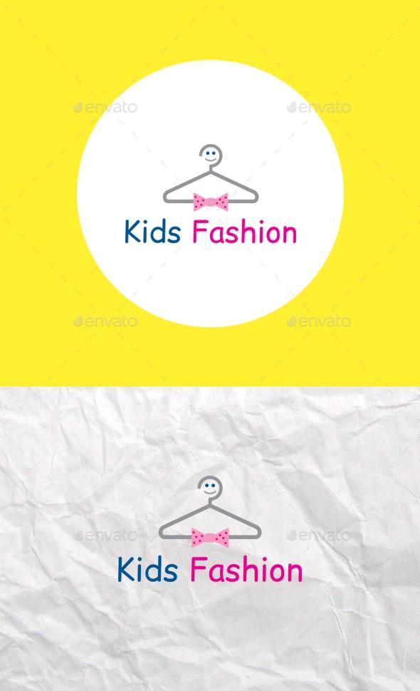 Kids Fashion Logo Template - Logo Templates