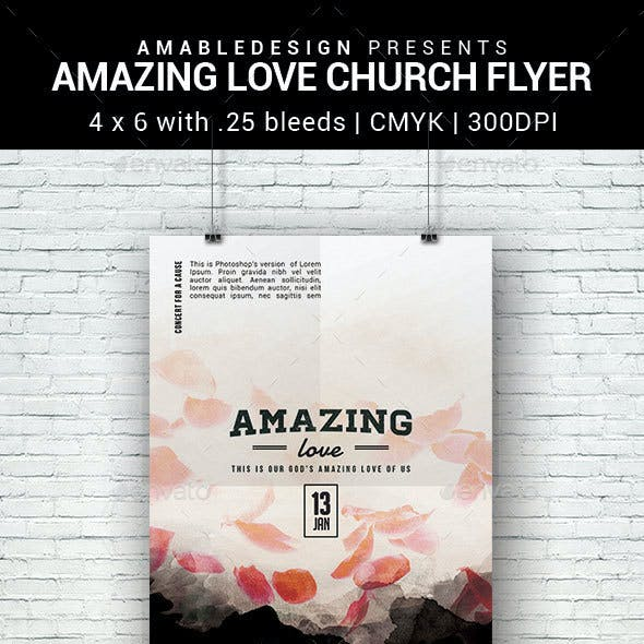 Love Church Flyer