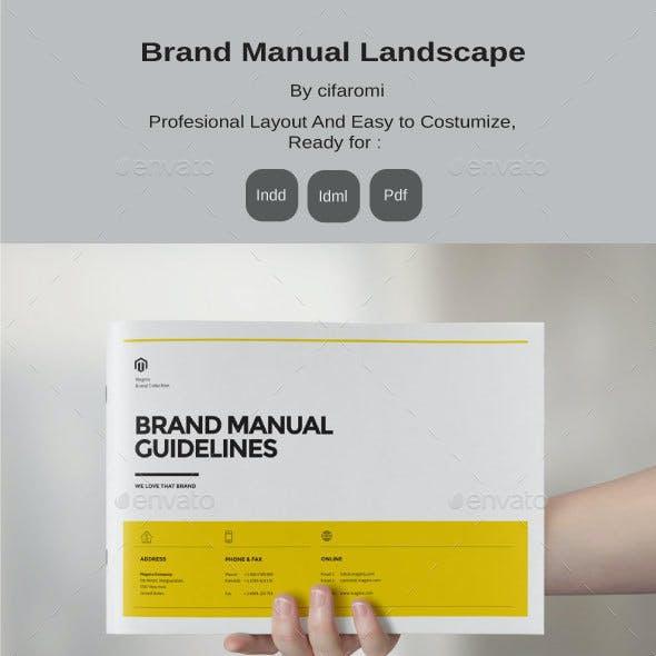 Brand Manual Landscape