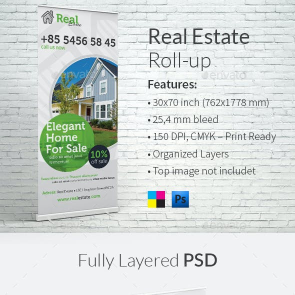 Real Estate Roll-up Template