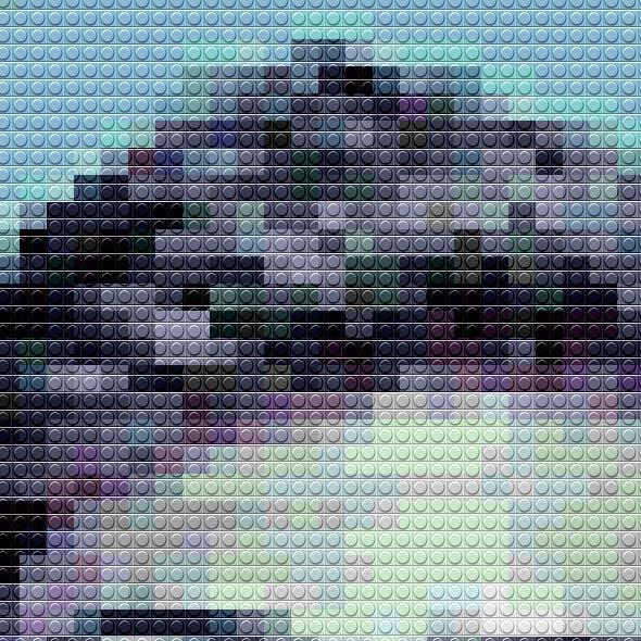Lego Photoshop Art Action