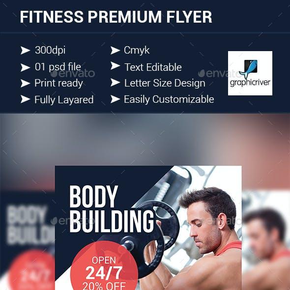 Fitness Premium Flyer