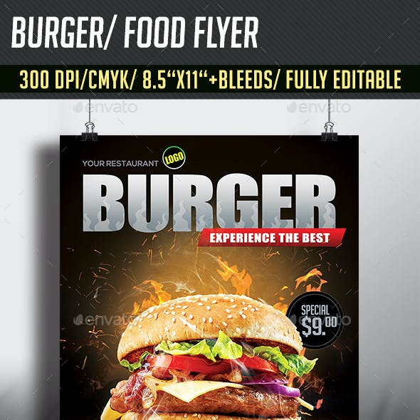 Burger/ Food Flyer