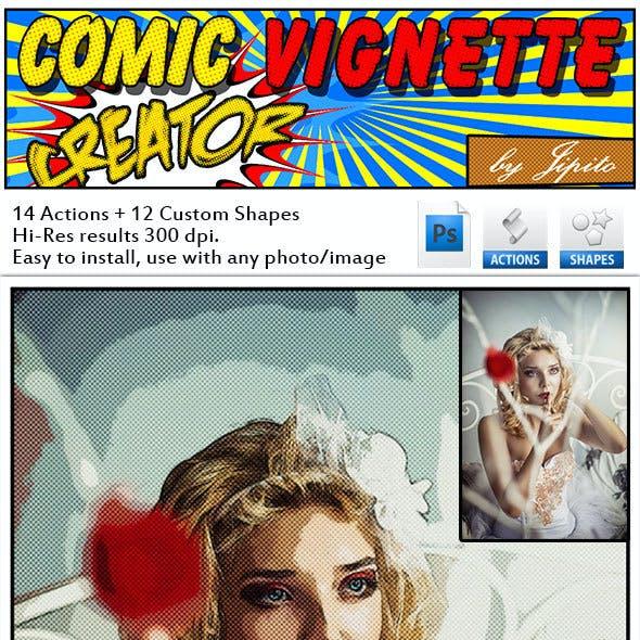 Complete Comic Vignette Creator