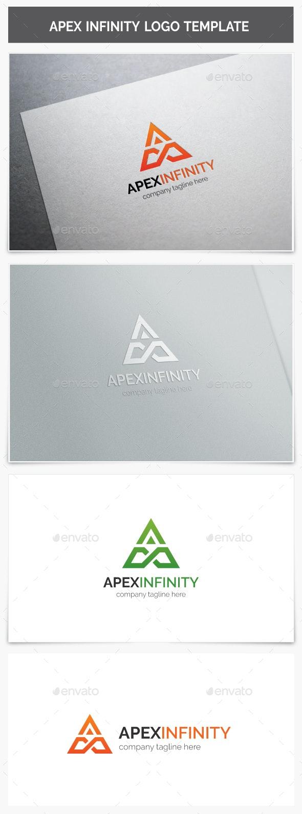 Apex Infinity Logo - Letters Logo Templates